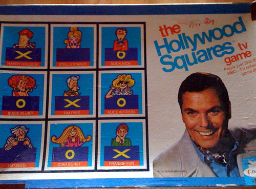 hollywood squares board game