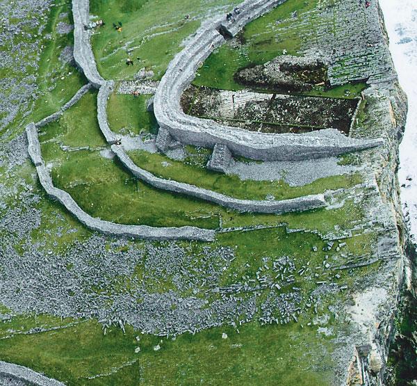 irish fort demonstrates defense-in-depth