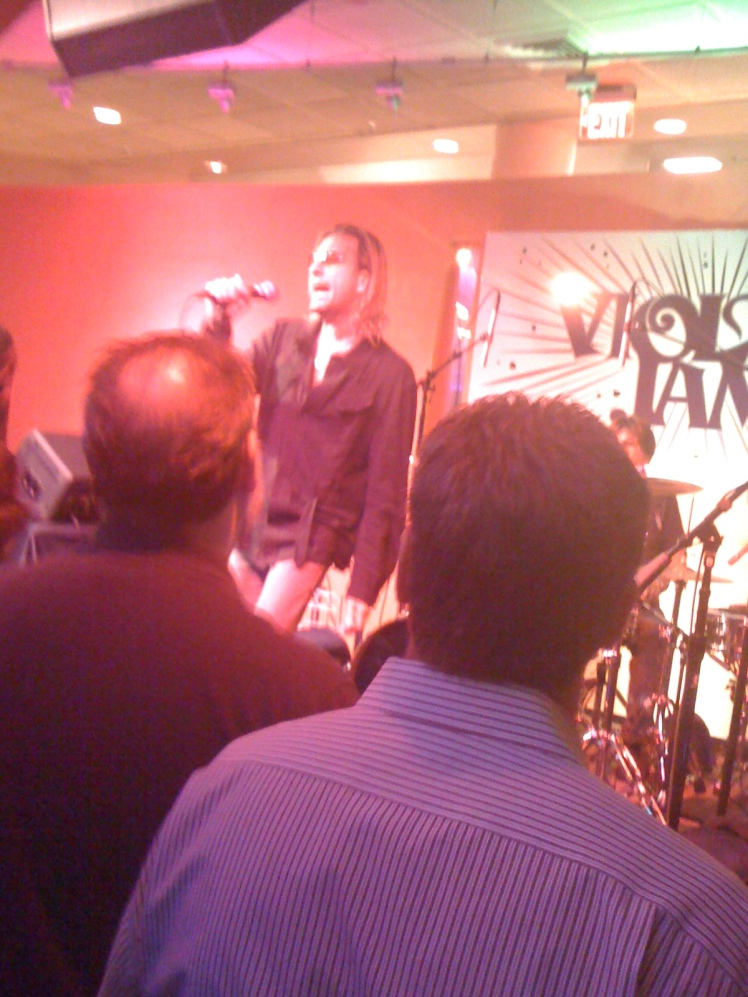 cy curnin and the fixx, June 2012