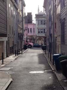 North Beach alley